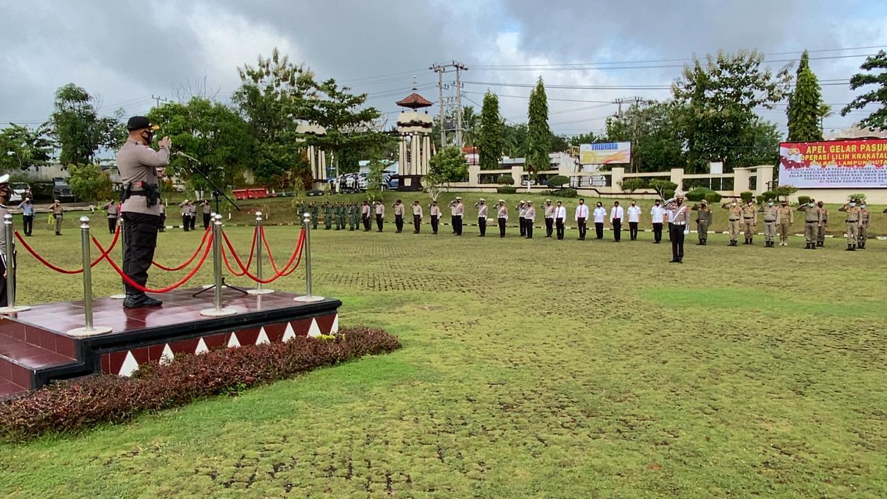 Amankan Natal dan Tahun Baru 2021, Polres Lampung Utara ...